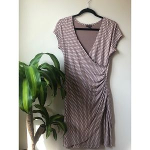 Tricotto Dress short sleeve polka dots Size M